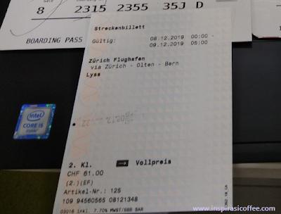 tiket kereta di Swiss