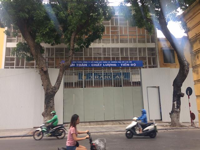 Kết quả hình ảnh cho Trường Tiểu học Tràng An, số 29 phố Nhà Chung