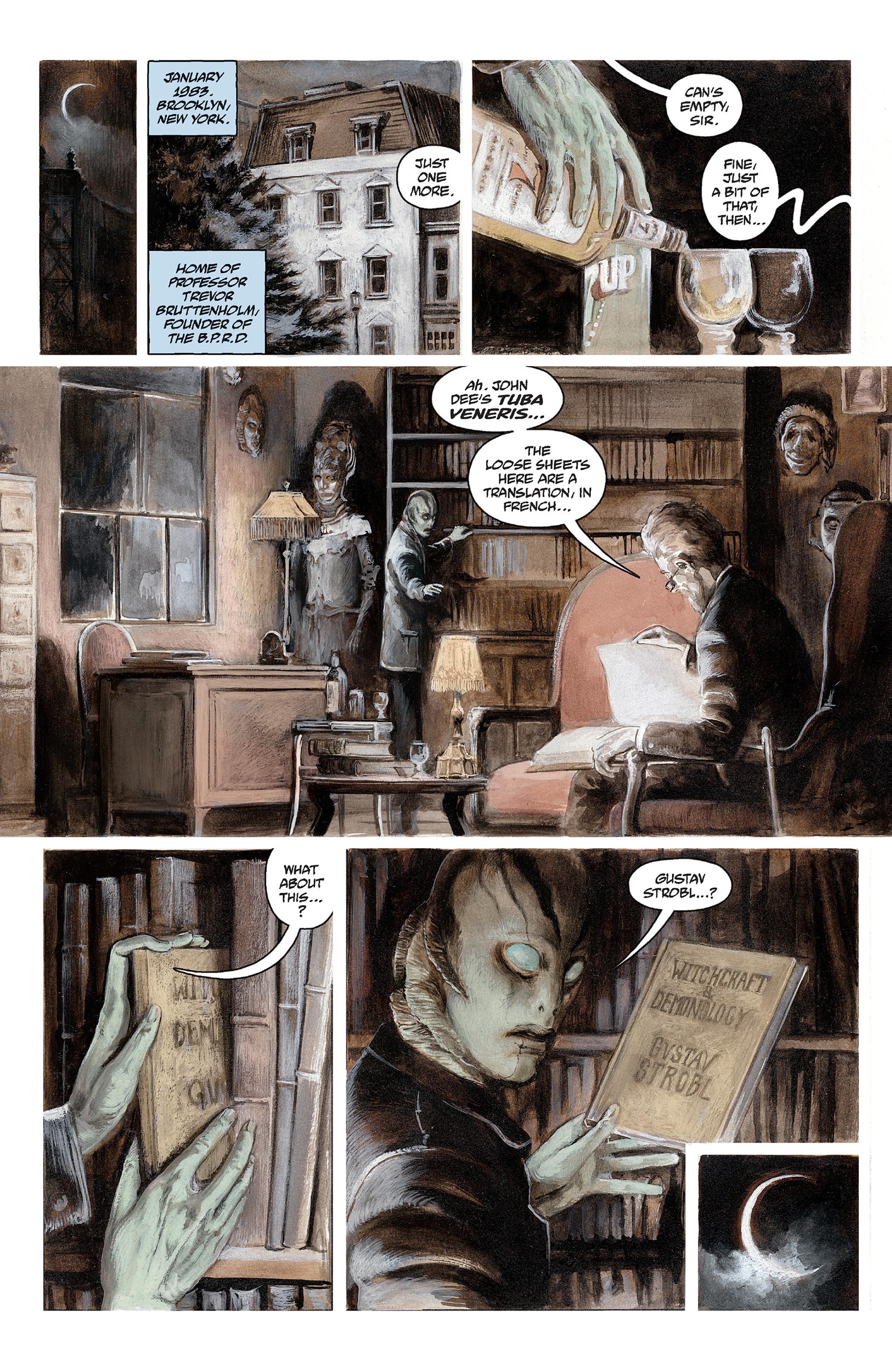 Read online Abe Sapien comic -  Issue #30 - 3