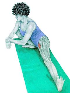 latihan pelemasan kaki dapat mencegah galau