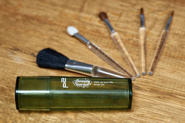 p2 beauty stories le - style up your life brush set
