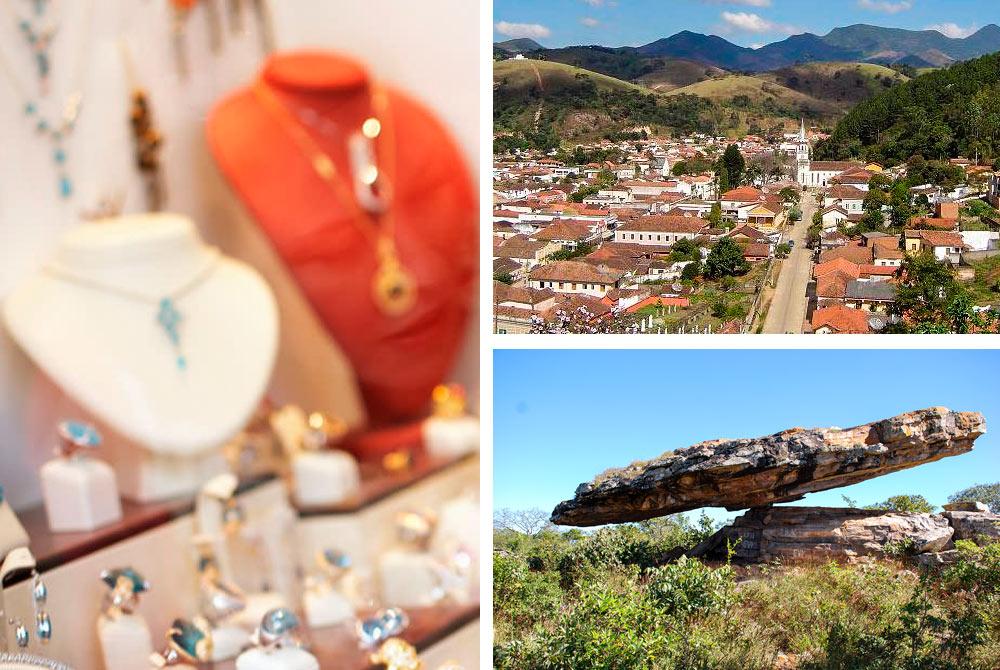 """""""Meu cunhado Didier foi meu primeiro e grande incentivador, viajava muito para Brasília e passava pela cidade de Cristalina/GO, onde vendia diversas pedras e joias. Ele me contava sobre suas viagens e me incentivava a conhecer a cidade, resolvi visitar e fiquei encantado""""."""