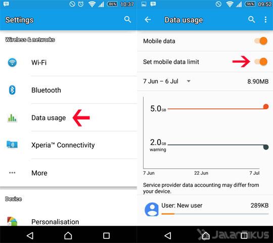 5 Cara Menghemat Kuota Internet Bengkel Samsung Galaxy Android
