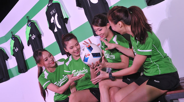 carlsberg malaysia euro 2016 launch girls