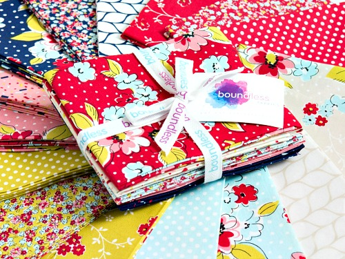 Check Out the adorable NEW Boundless fabric collection here!