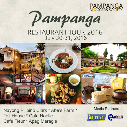 #PRT2016 : Pampanga Restaurant Tour 2016