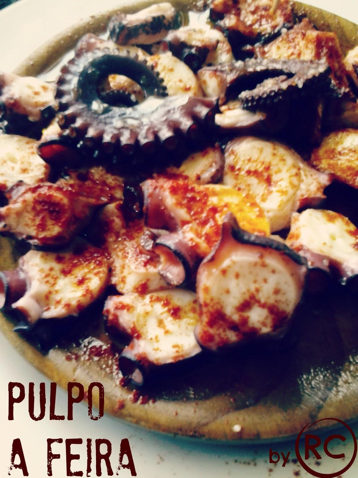 Recursos culinarios pulpo a feira for Cocer pulpo congelado