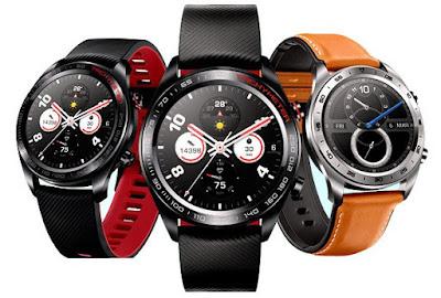Honor Watch Magic, Jam Tangan Berakal Dilengkapi Dengan Gps