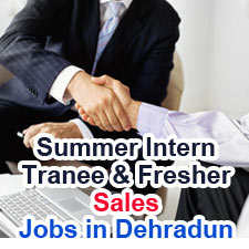 Summer Internship Trainee / MGT.Trainee - Jobs in Dehradun Urgent Openings Fresher for Sales-www.planetradiocity.com