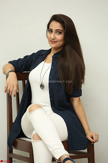 Manjusha in White Tight T Shirt and Black Jacket ~ Exclusive Celebrities Galleries 027