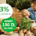 Konto Oszczędnościowe 3% do 200 tys. zł w Getin Bank (+3,5% na rok i nawet 150 zł na JakOszczedzic.pl)