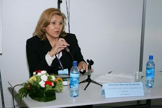 """Маньшина Надежда Валерьевна, модератор и спикер Международной конференции  """"Spa & Health 2007"""", Москва"""