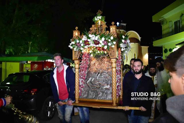 Ο Ίναχος γιορτάζει τον Άγιο Δημήτριο (βίντεο)
