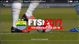 FTS 2017 Mod PERSIB Special Viking Apk + Data Android