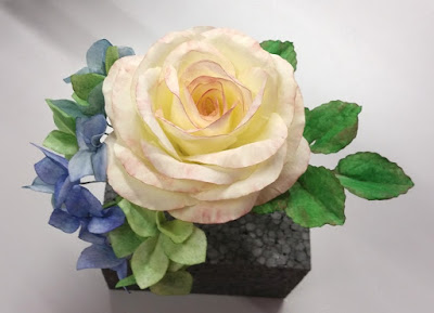 Kurs Wafer Paper Rose