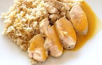 Pechuga de pollo con arroz