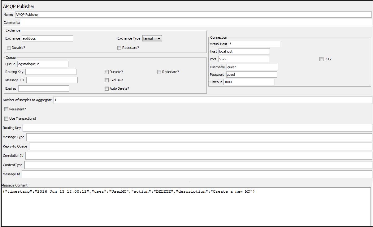 JavaSizzler: Configure JMeter to Load Test Rabbit MQ