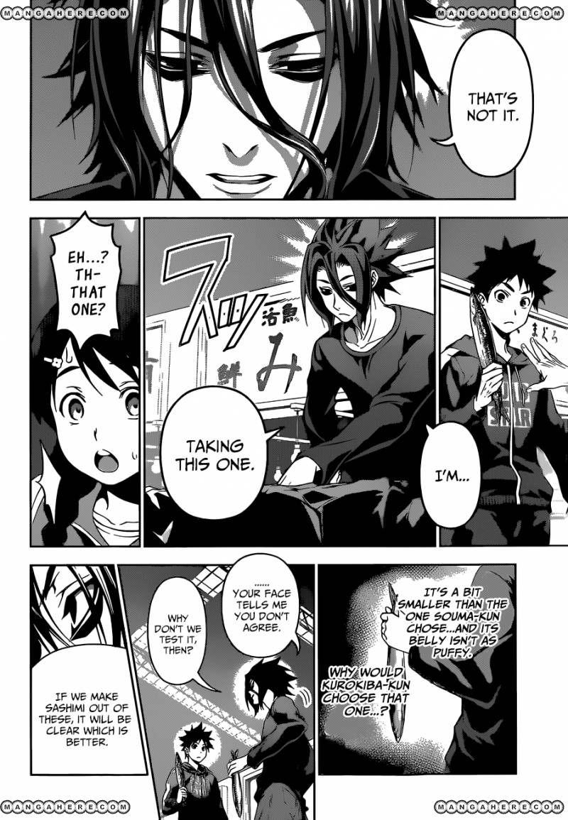 Shokugeki no Soma - Chapter 104