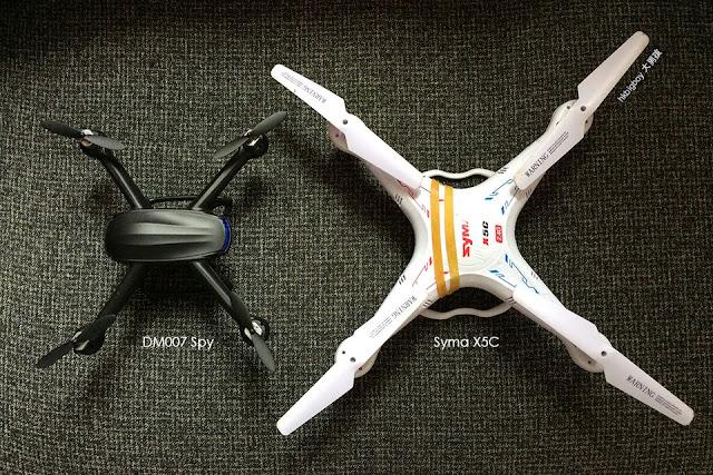 【廉價航拍】DM 007 Spy小型航拍機quadcopter drone aerial photography
