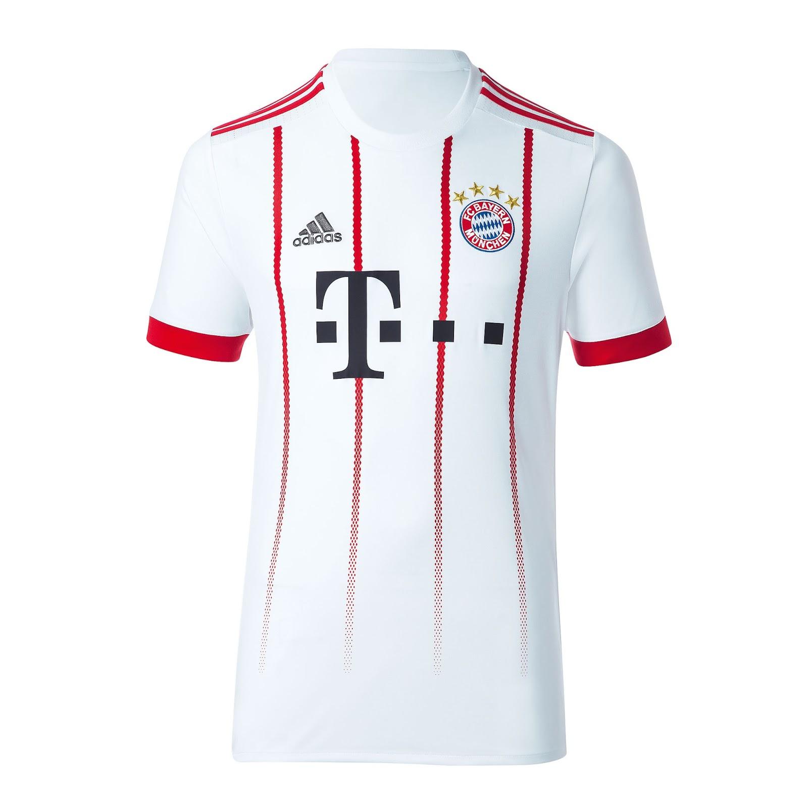 294d8b4f98e76 Bayern de Munique apresenta sua nova camisa para Liga dos Campeões ...