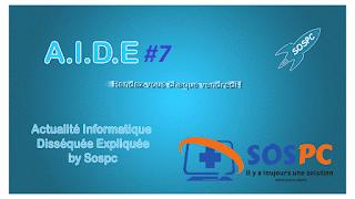 vidéo avec SOSPC !
