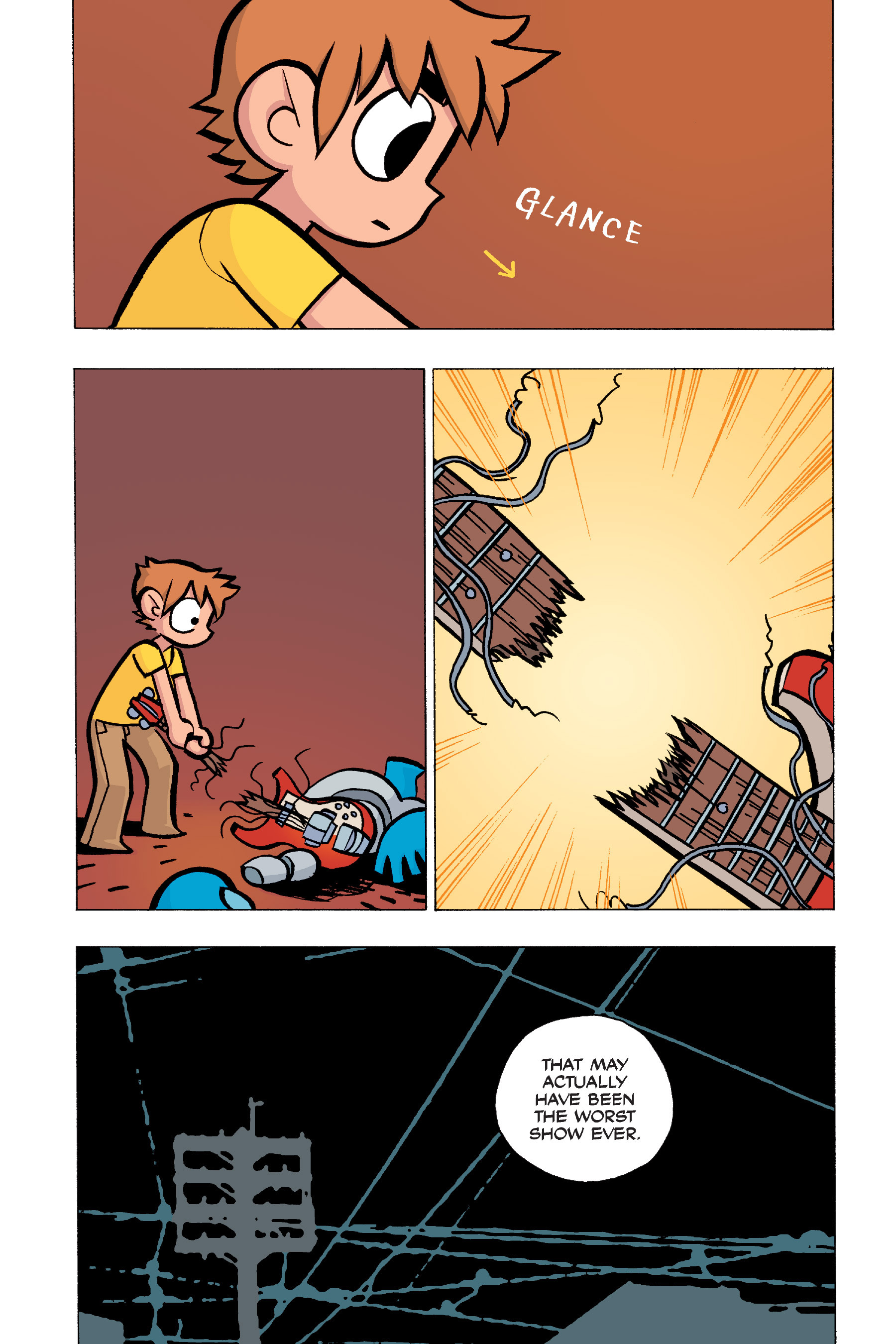 Read online Scott Pilgrim comic -  Issue #5 - 58