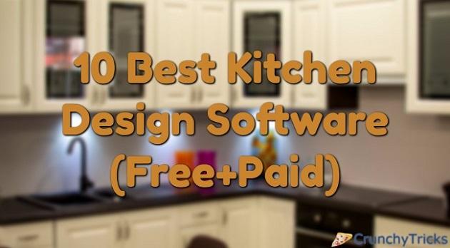 10 Best Kitchen Design Software (Both Free & Paid