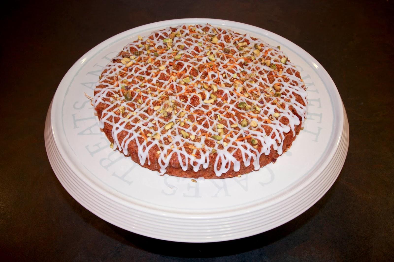 Coconut Flour Carrot Cake Uk