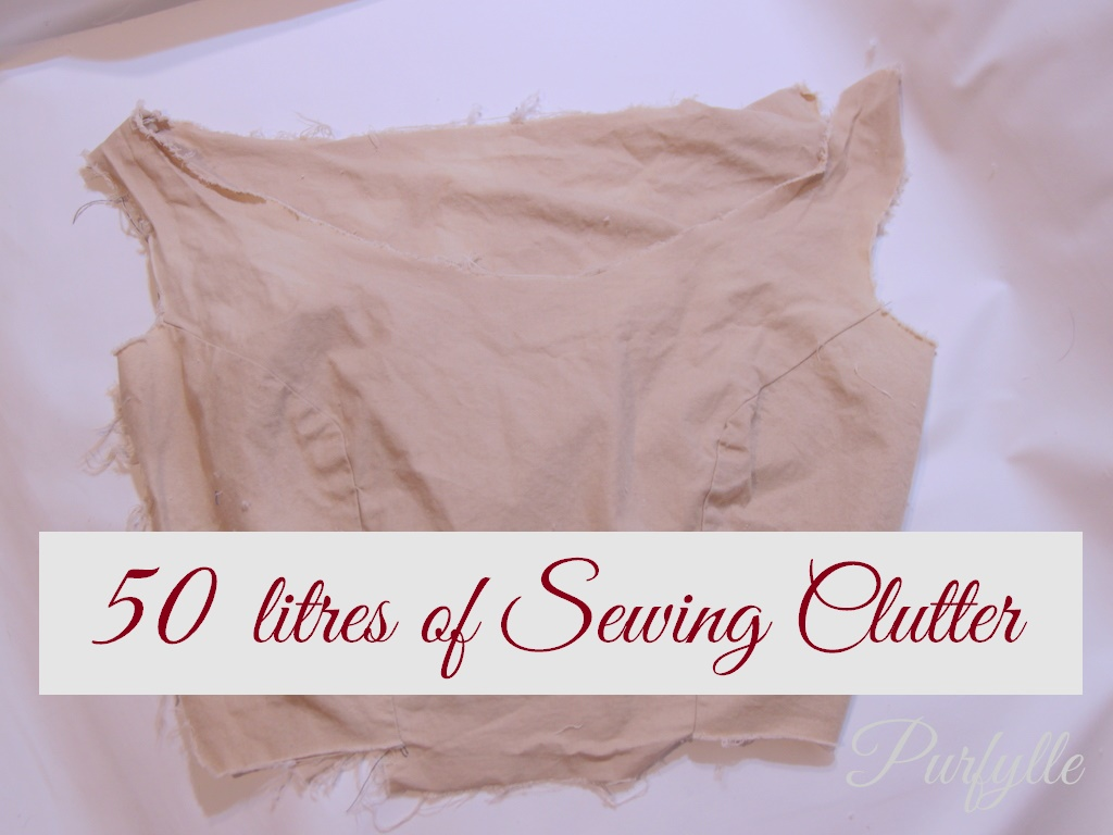 50 Litres Of Sewing Clutter Part 2 - Calico