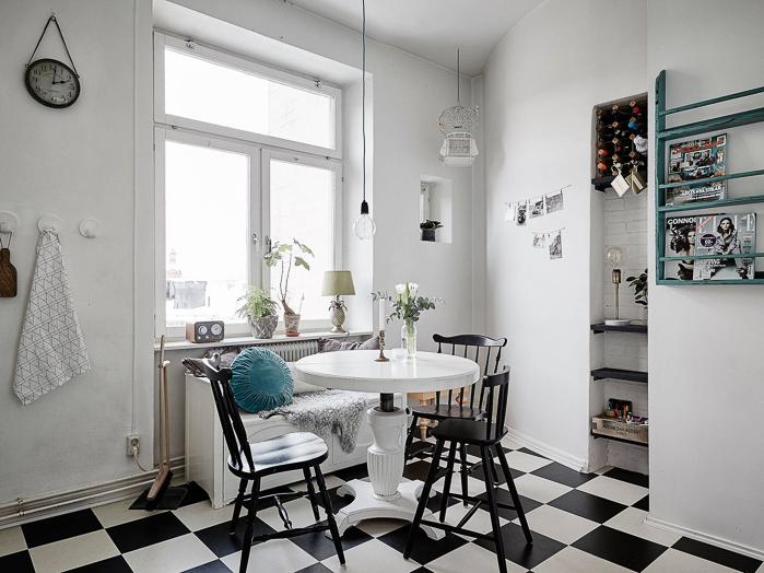 Deco estilo n rdico en tonos neutros y un suelo de - Deco estilo nordico ...