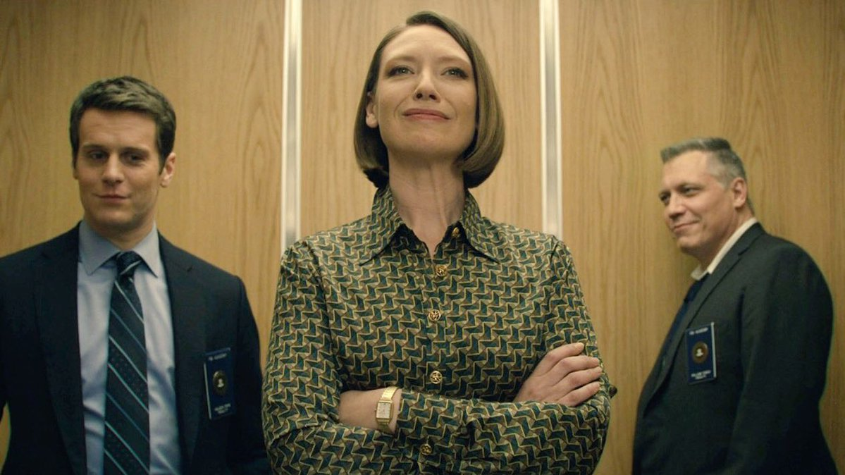 MINDHUNTER - Jonathan Groff, Anna Torv y Holt McCallany