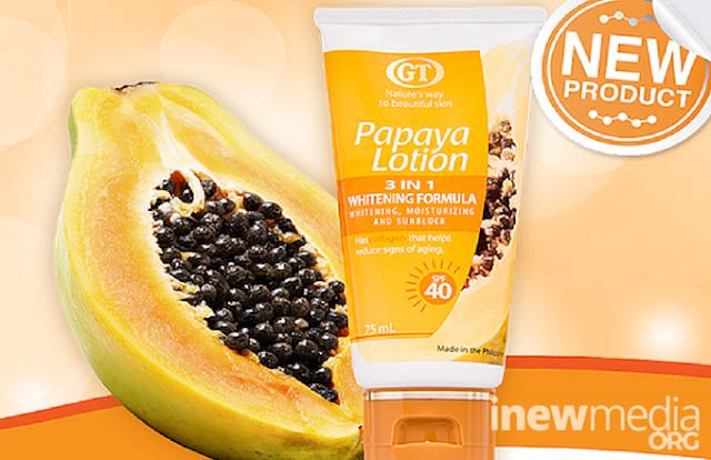 Product Review, GT Papaya Lotion