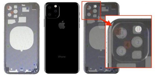 تسريبات جديدة لتصميم الآيفون لهذا العام 2019  iPhone XI