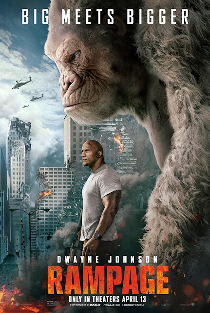 Poster Rampage 2018 Full Hindi Movie Download Dual Audio HDRip 720p