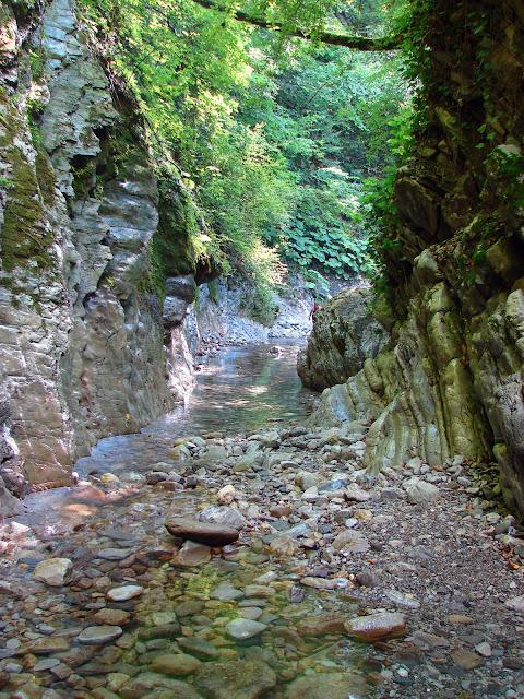 Мамедово ущелье вблизи города Лазаревское