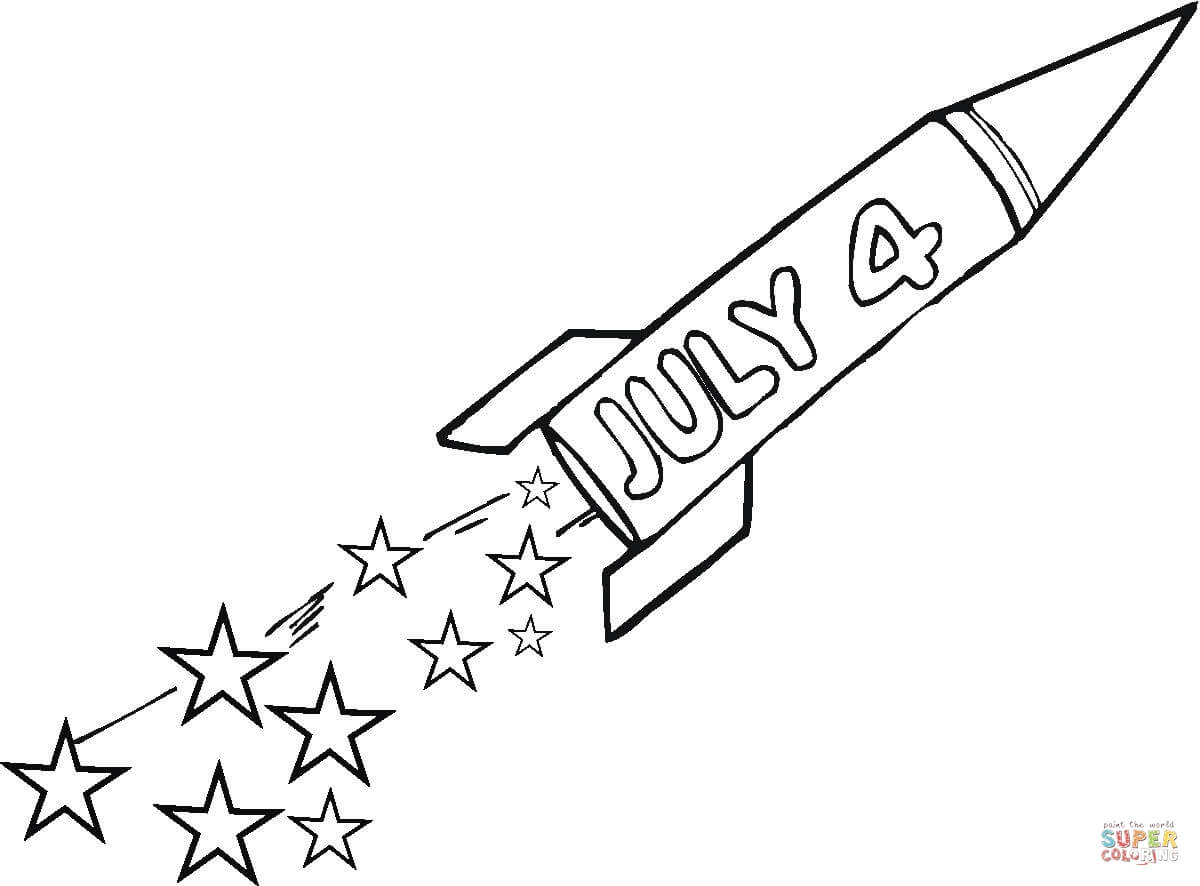 Printable coloring pages for 4th of july - 4th Of July Coloring Pages For Adults