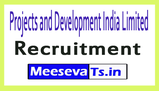 Projects and Development India Limited PDIL Recruitment