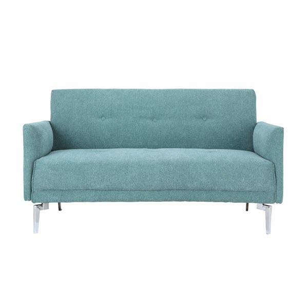 KURT Sofa Vải 2 Chỗ 140x75x77 cm Màu Xanh lá