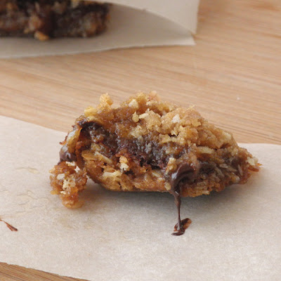Food Pusher Oatmeal Caramel Bars