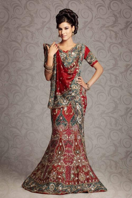 Pakistani Bridal Lehenga And Dupata Style Collection