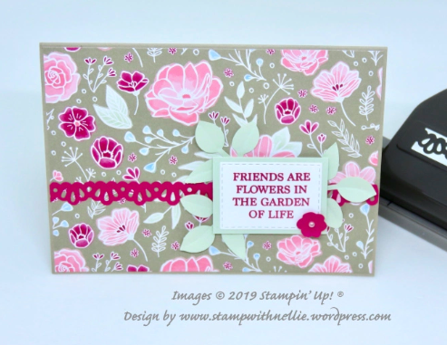 The Project Share Project #18 Stampin' Up! #poortlersrock