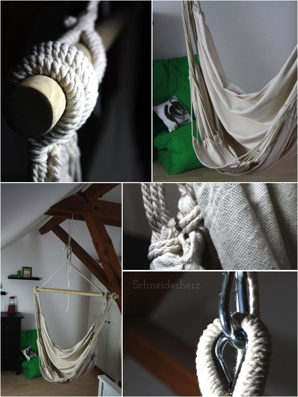 Hängesessel Indoor Einrichten Dachzimmer Teenager