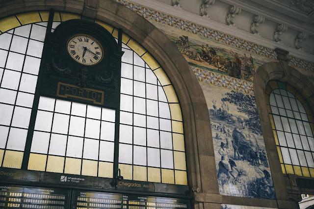 サン・ベント駅(Estação de São Bento)|正面