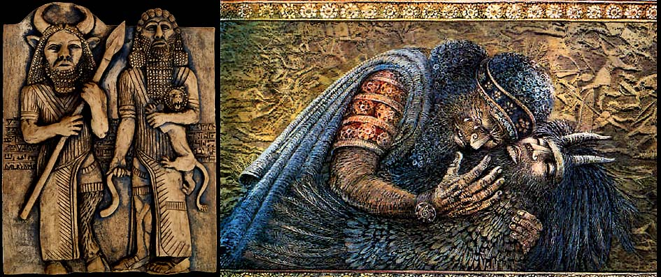 gilgamesh and enkidu relationship gayatri