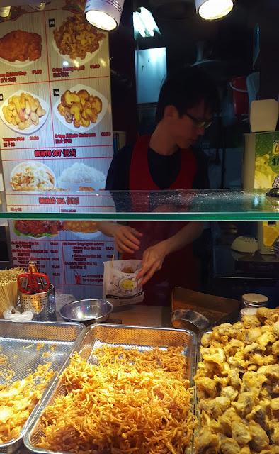 food at Bugis Street