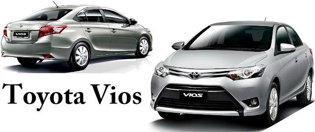 Toyota Vios - 10 Model Kereta Pilihan Rakyat Malaysia 2016