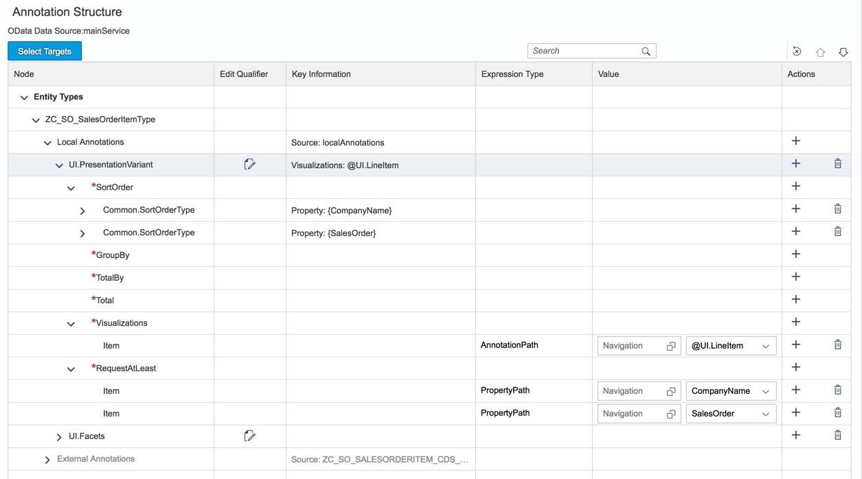 SAP ABAP Central: Fiori elements – List Report – Sorting, Grouping