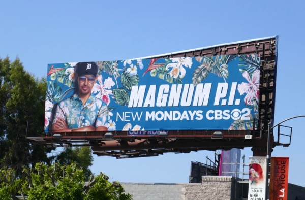 Magnum PI TV reboot billboard