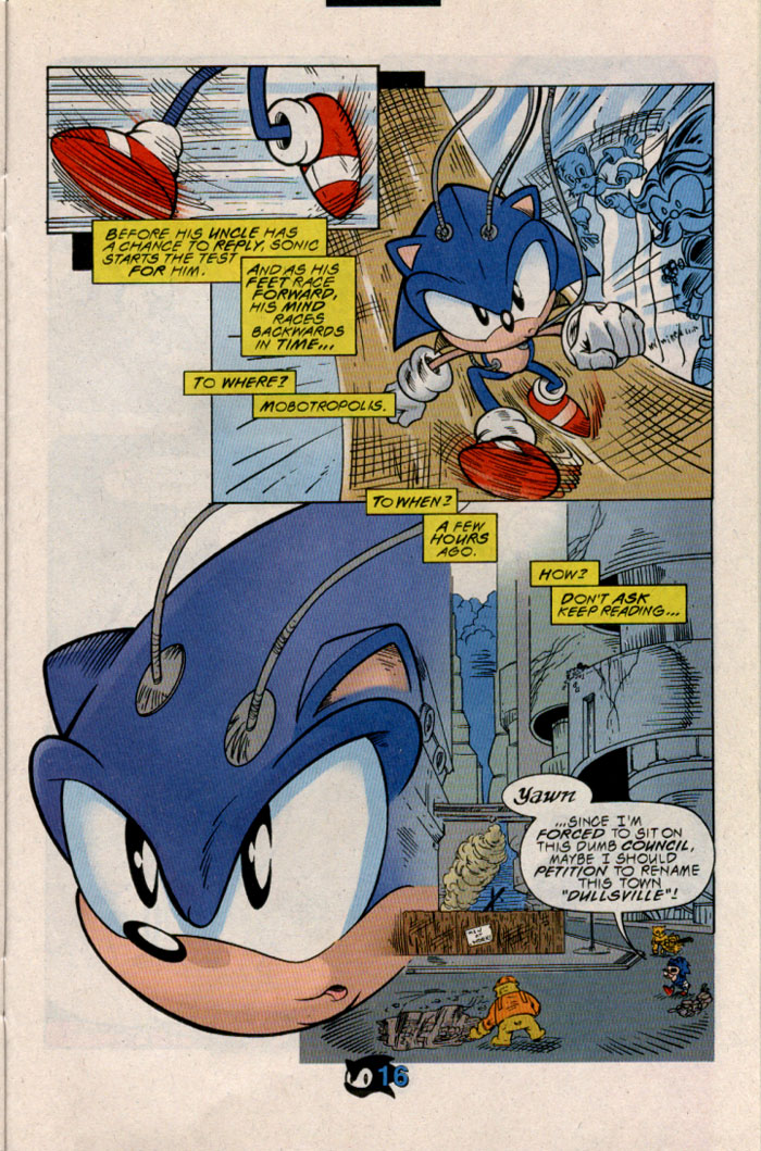 Read online Sonic The Hedgehog comic -  Issue #54 - 19