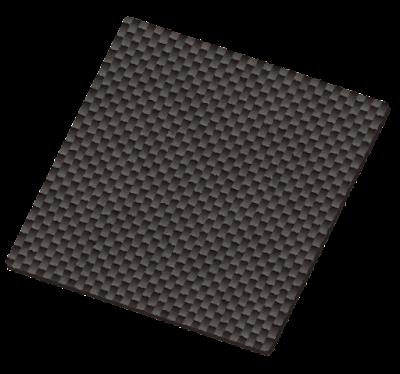 カーボンの板のイラスト